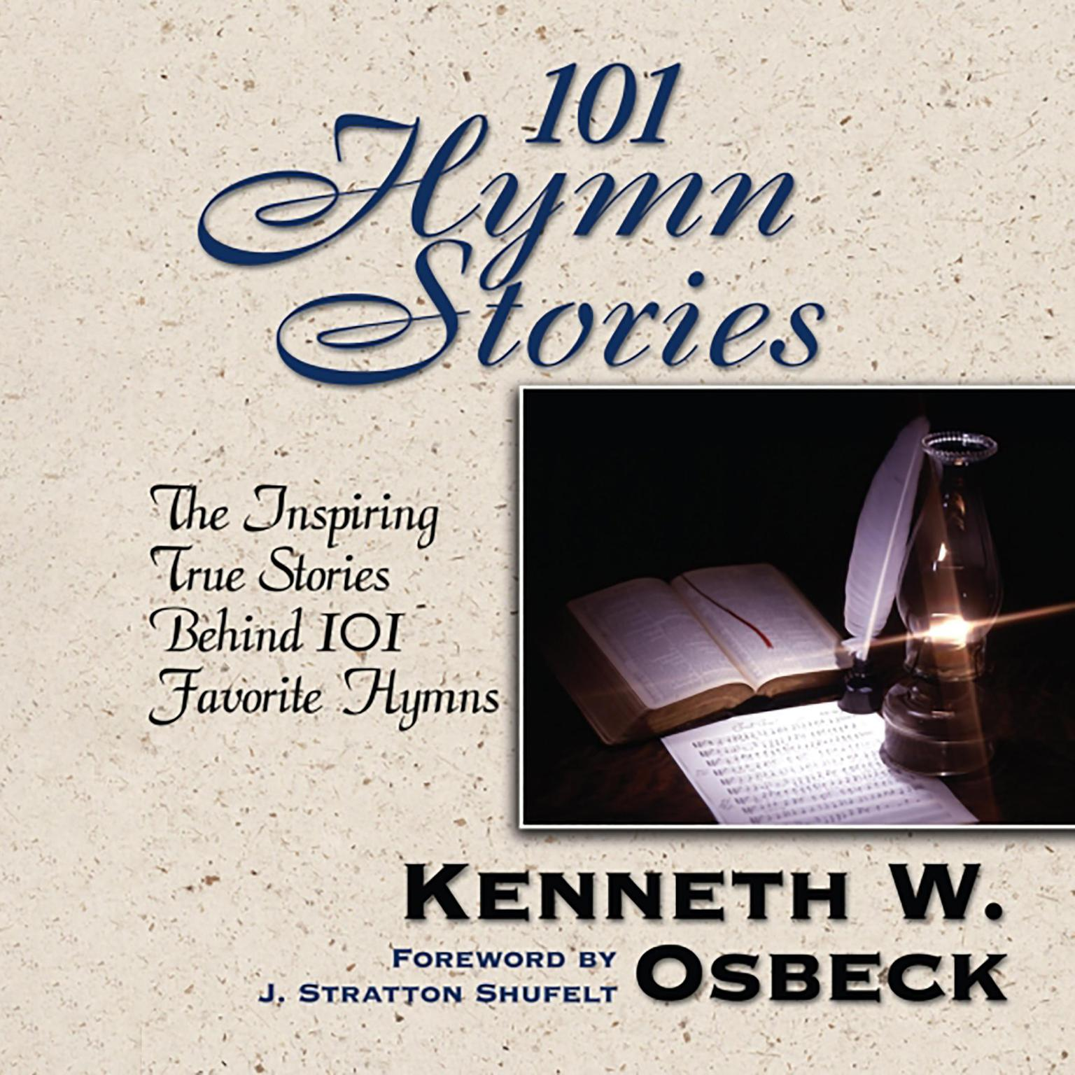 Printable 101 Hymn Stories Audiobook Cover Art