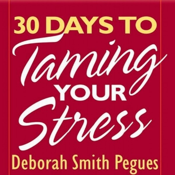 Printable 30 Days to Taming Your Stress Audiobook Cover Art
