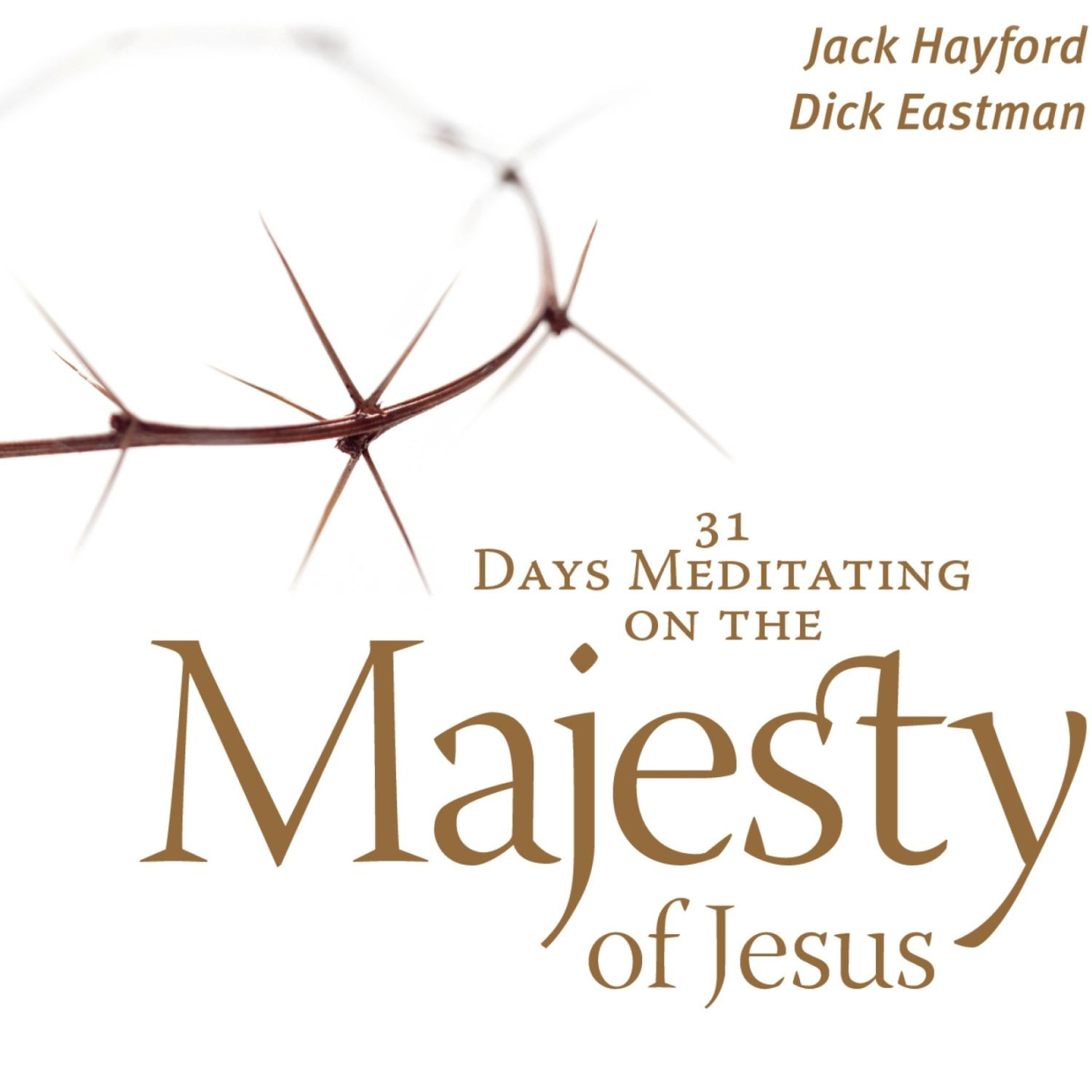 Printable 31 Days Meditating on the Majesty of Jesus Audiobook Cover Art