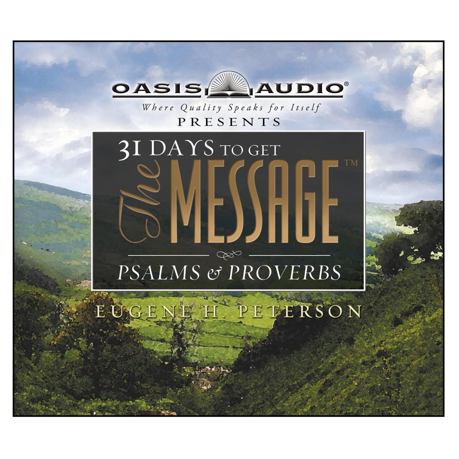 Printable 31 Days to Get The Message: Psalms and Proverbs Audiobook Cover Art