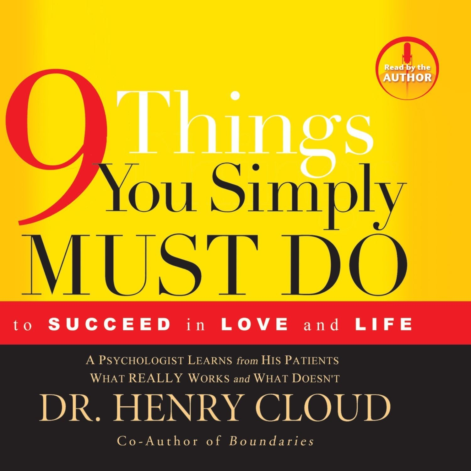Printable 9 Things You Simply Must Do: To Succeed in Love and Life Audiobook Cover Art