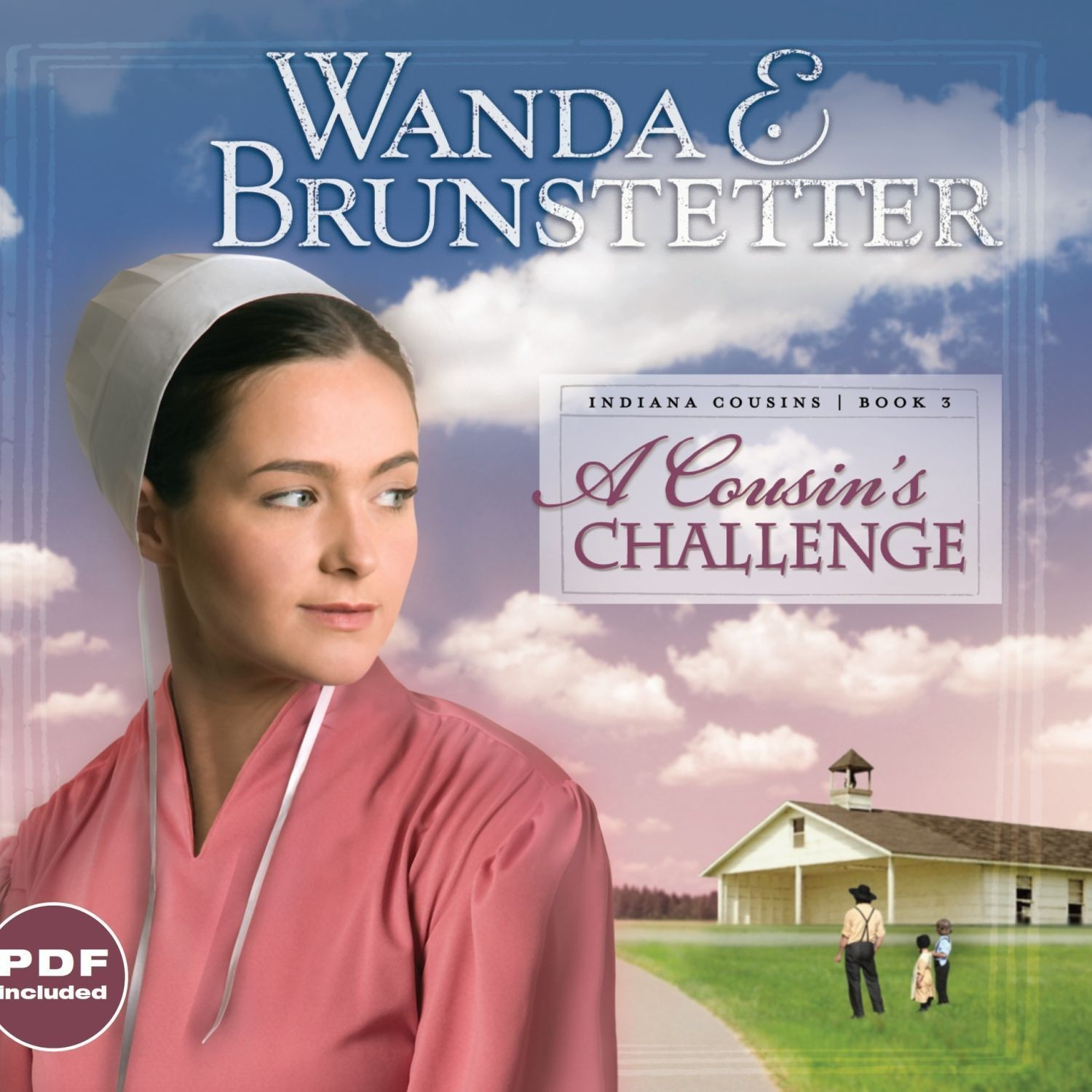 Printable A Cousin's Challenge Audiobook Cover Art