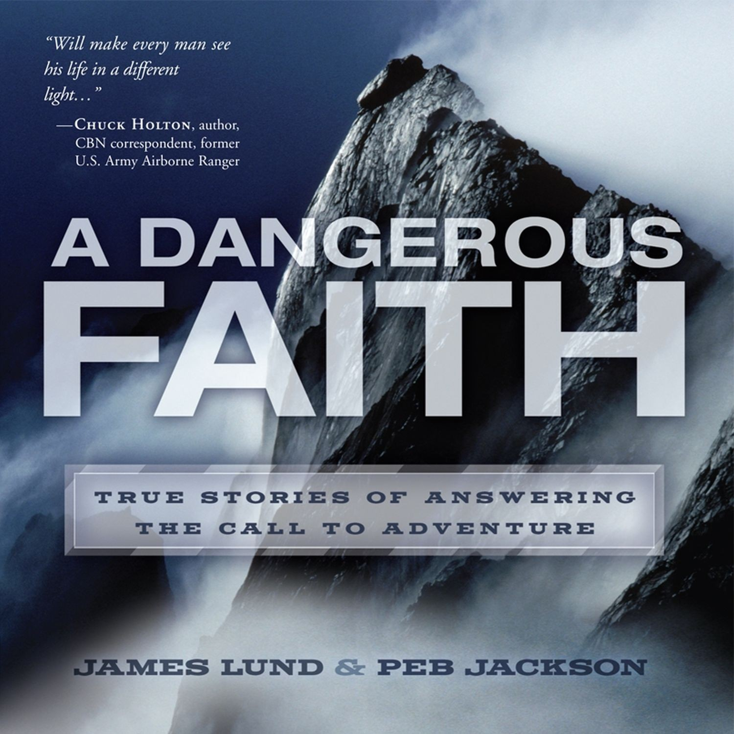 Printable A Dangerous Faith Audiobook Cover Art