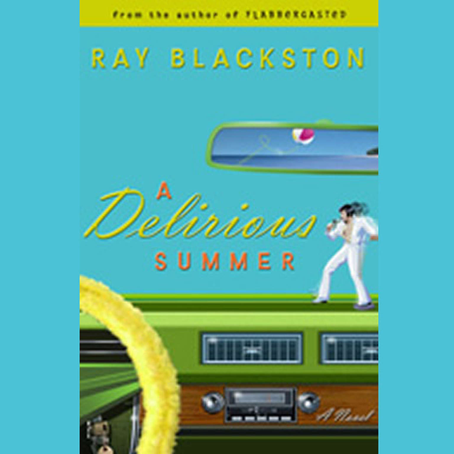 Printable A Delirious Summer Audiobook Cover Art
