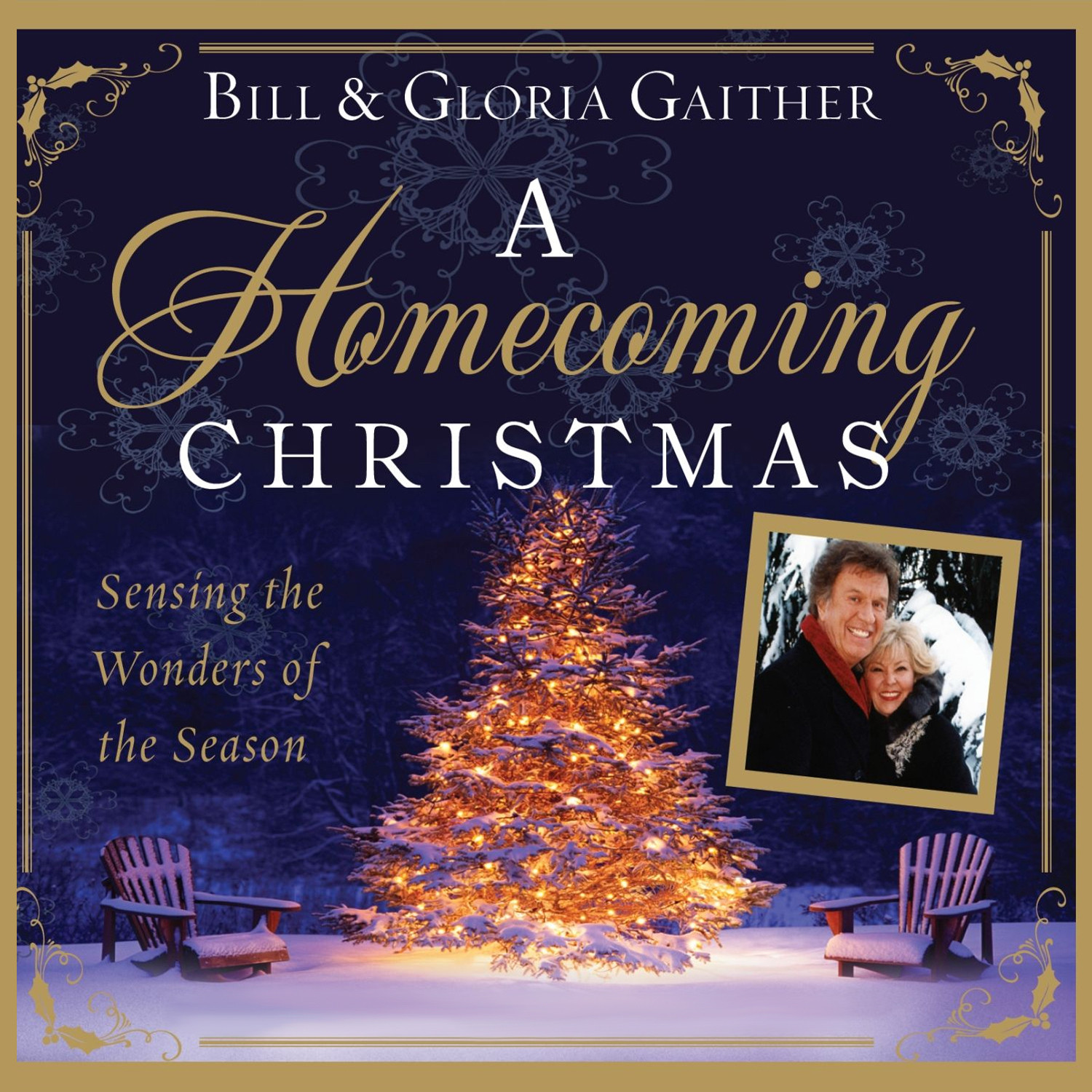 Printable A Homecoming Christmas: Sensing the Wonders of the Season Audiobook Cover Art
