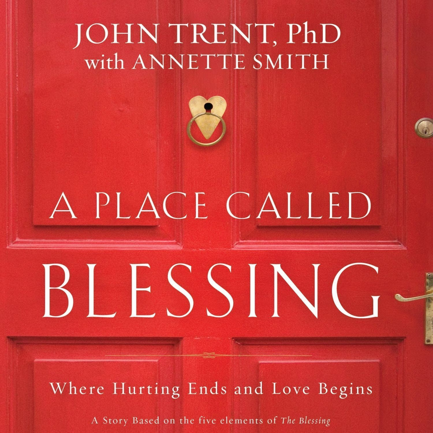 Printable A Place Called Blessing: Where Hurting Ends and Love Begins Audiobook Cover Art