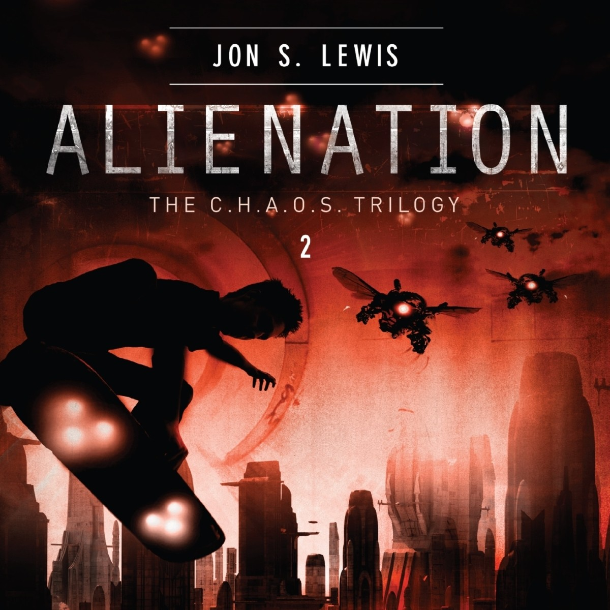 Printable Alienation Audiobook Cover Art