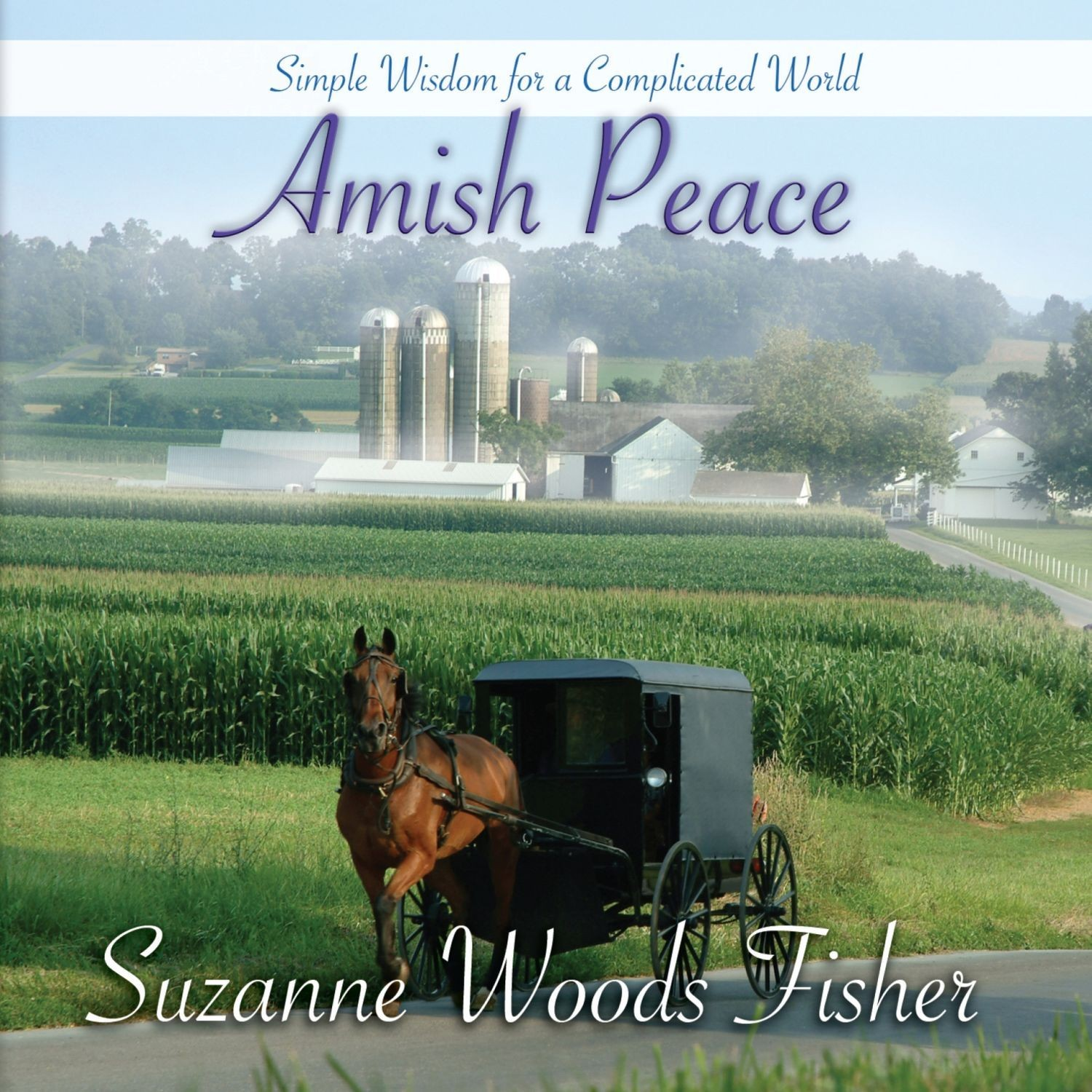 Printable Amish Peace: Simple Wisdom for a Complicated World Audiobook Cover Art