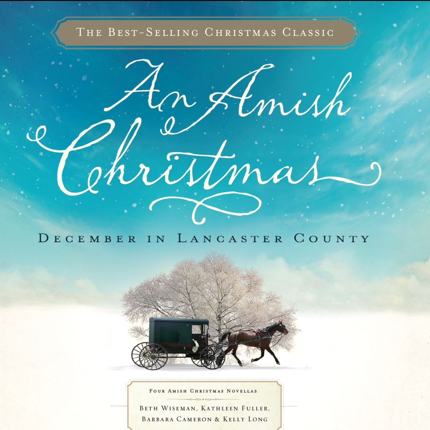 Printable An Amish Christmas: December in Lancaster County Audiobook Cover Art