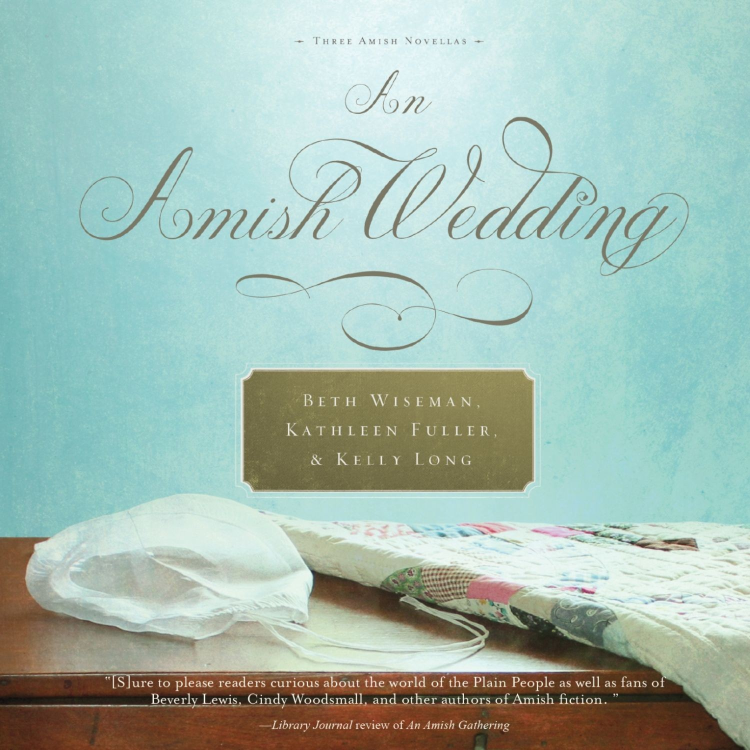 Printable An Amish Wedding Audiobook Cover Art
