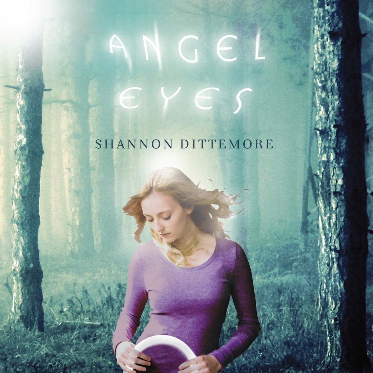 Printable Angel Eyes Audiobook Cover Art