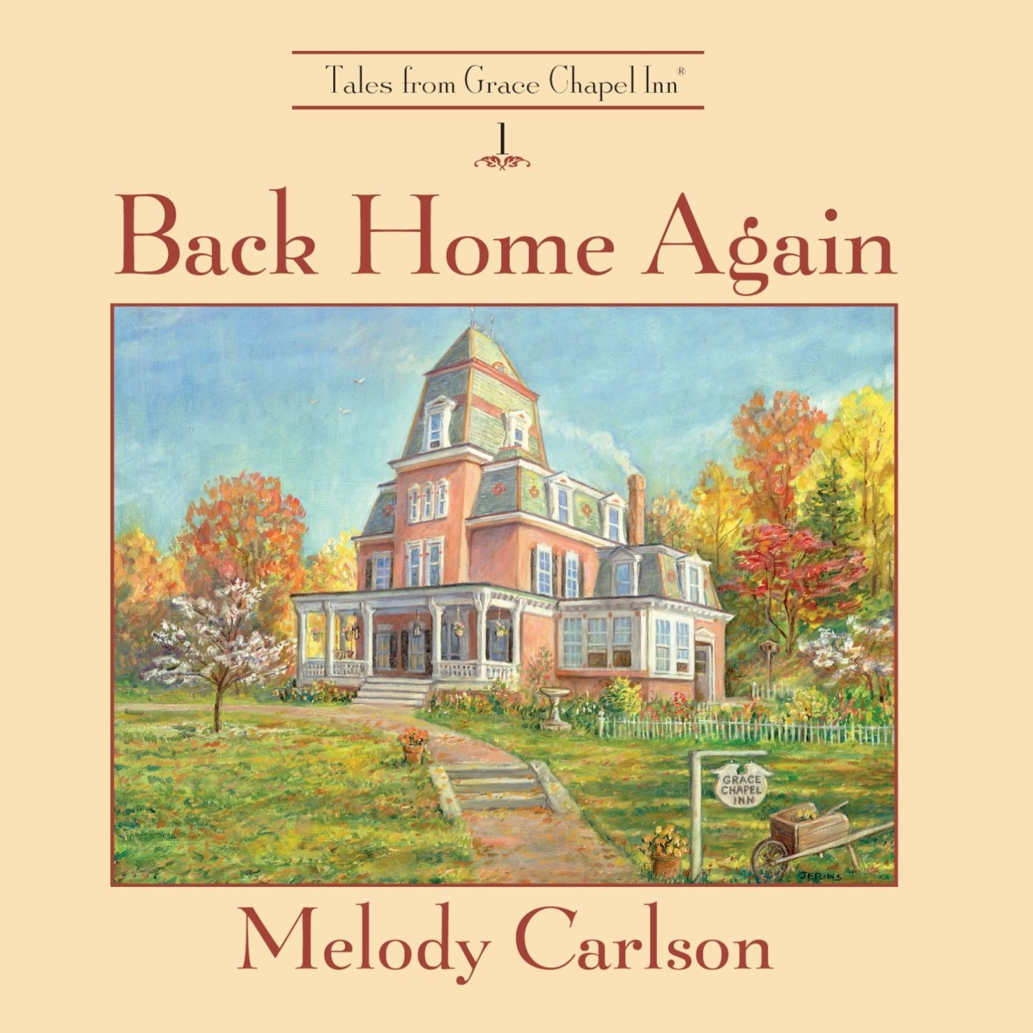 Printable Back Home Again: Tales from Grace Chapel Inn Audiobook Cover Art