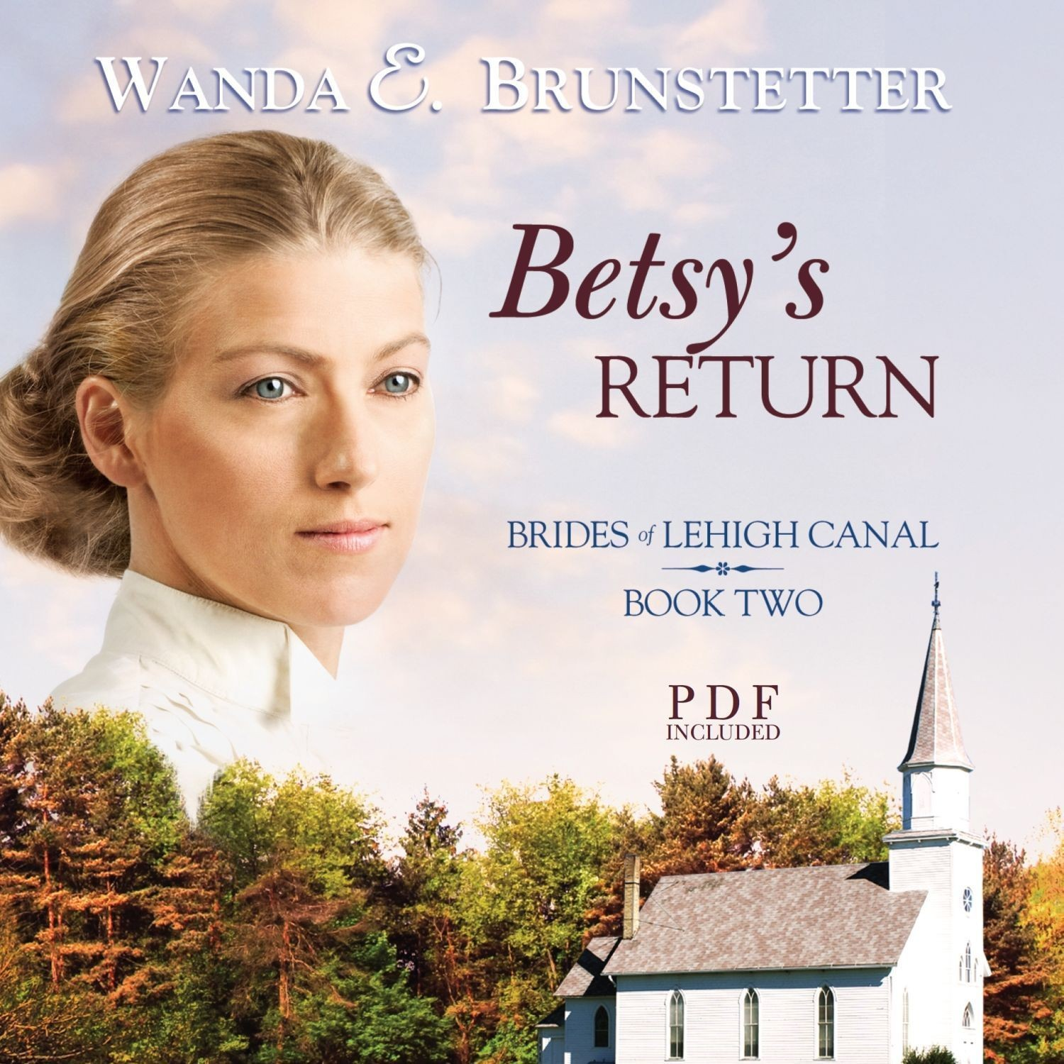 Printable Betsy's Return Audiobook Cover Art