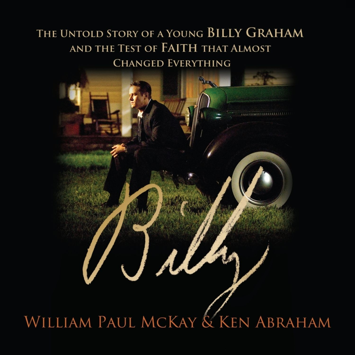 Printable Billy: The Untold Story of a Young Billy Graham and the Test of Faith that Almost Changed Everything Audiobook Cover Art