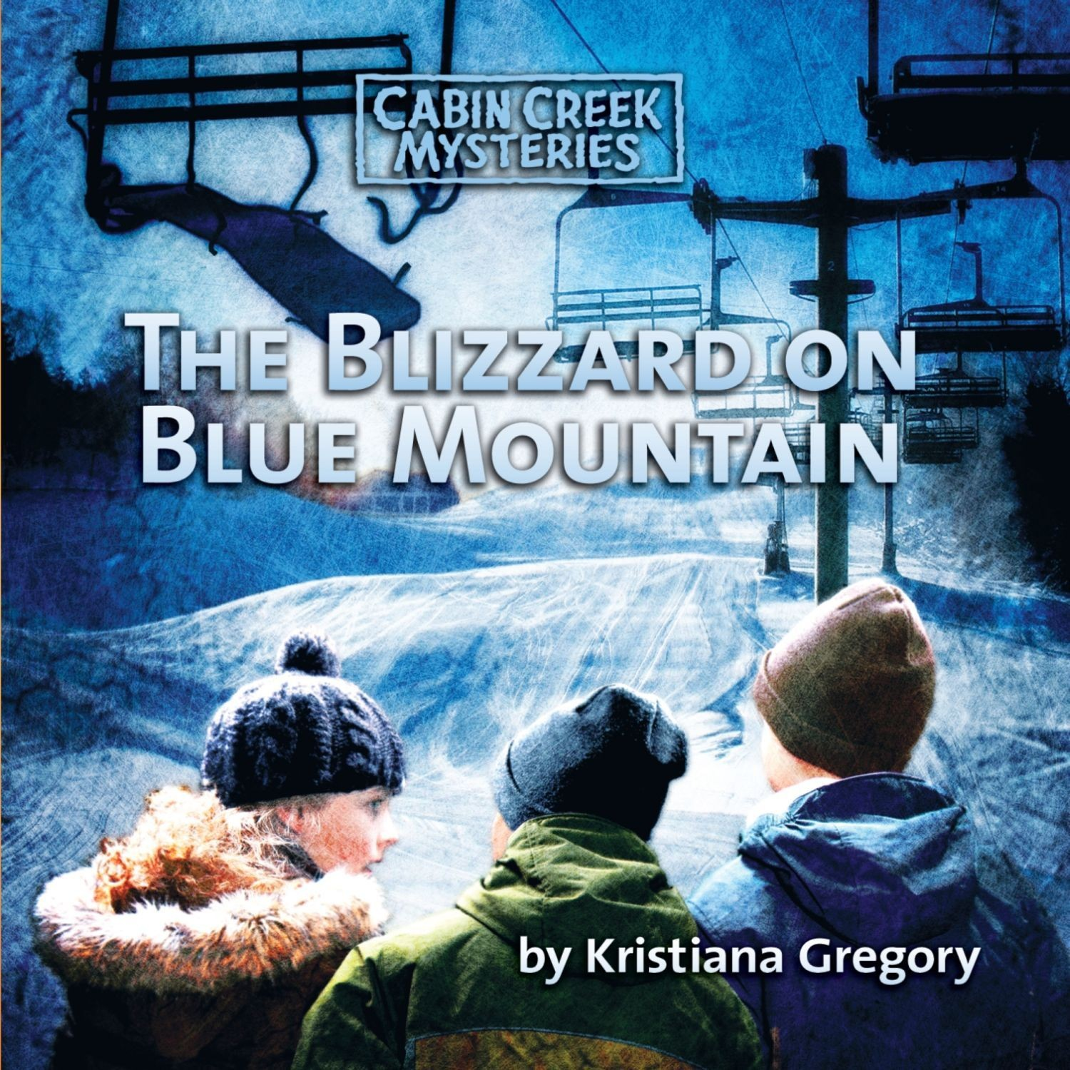 Printable The Blizzard on Blue Mountain Audiobook Cover Art