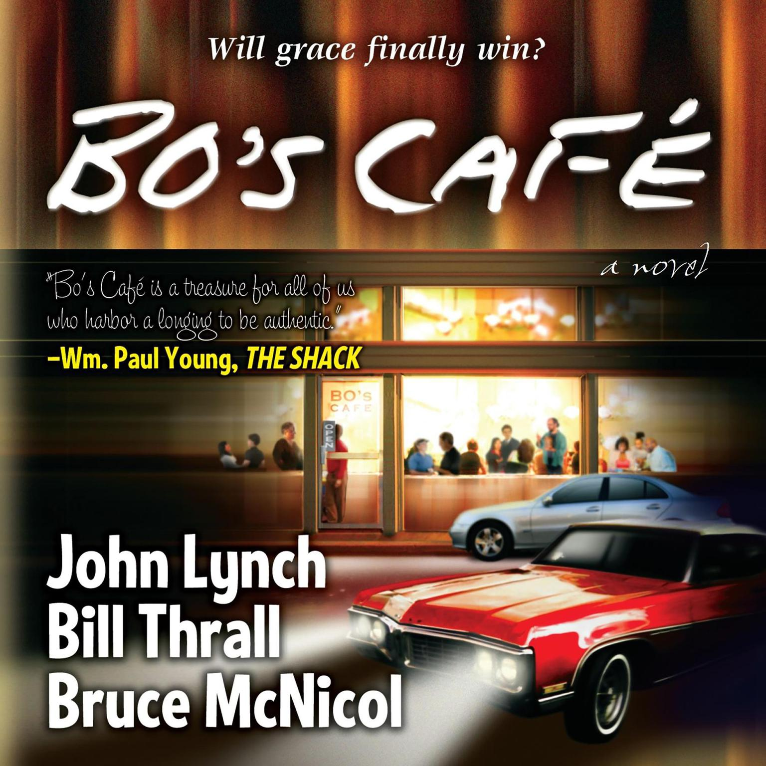 Printable Bo's Cafe Audiobook Cover Art
