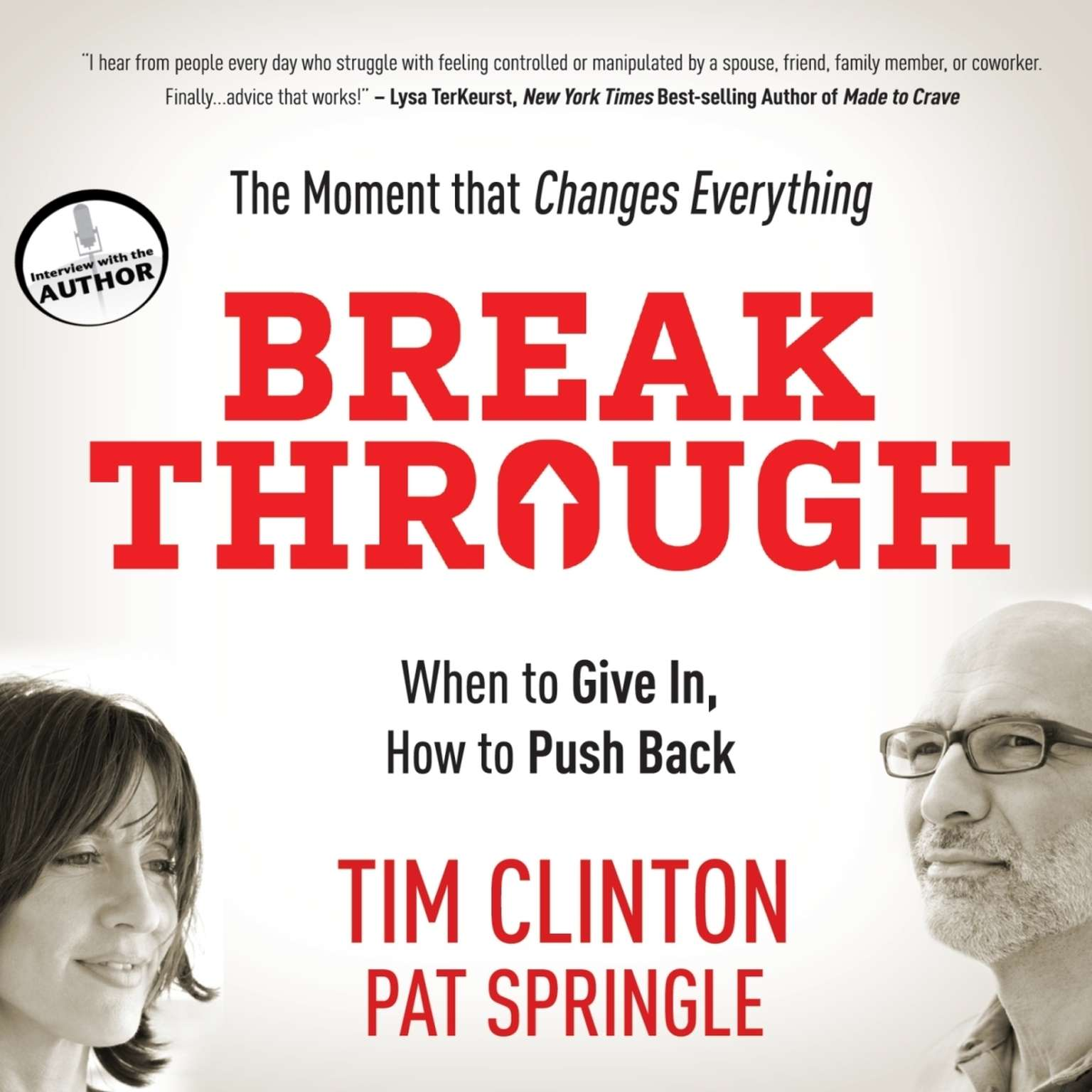 Printable Break Through: When to Give In, How to Push Back Audiobook Cover Art