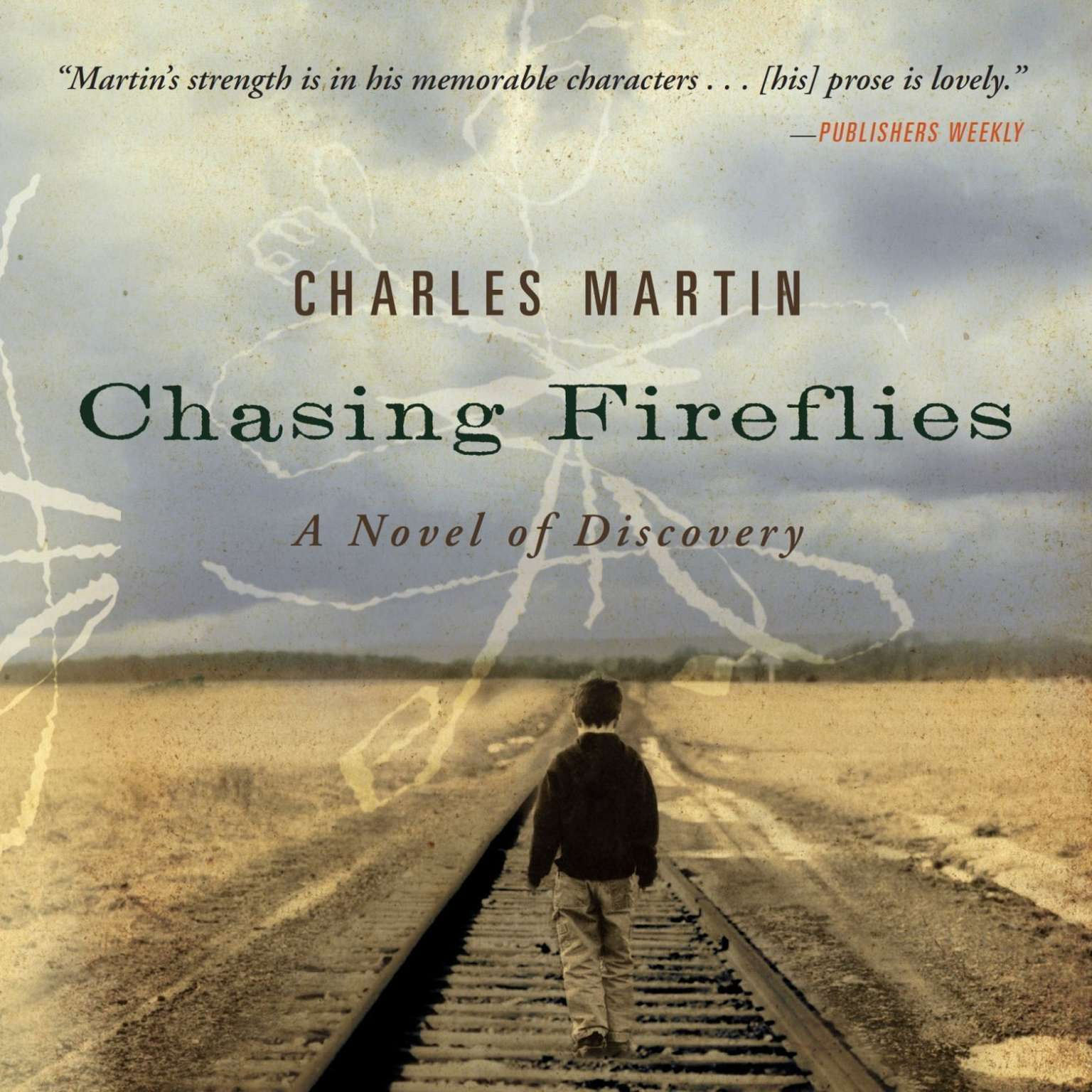 Printable Chasing Fireflies Audiobook Cover Art