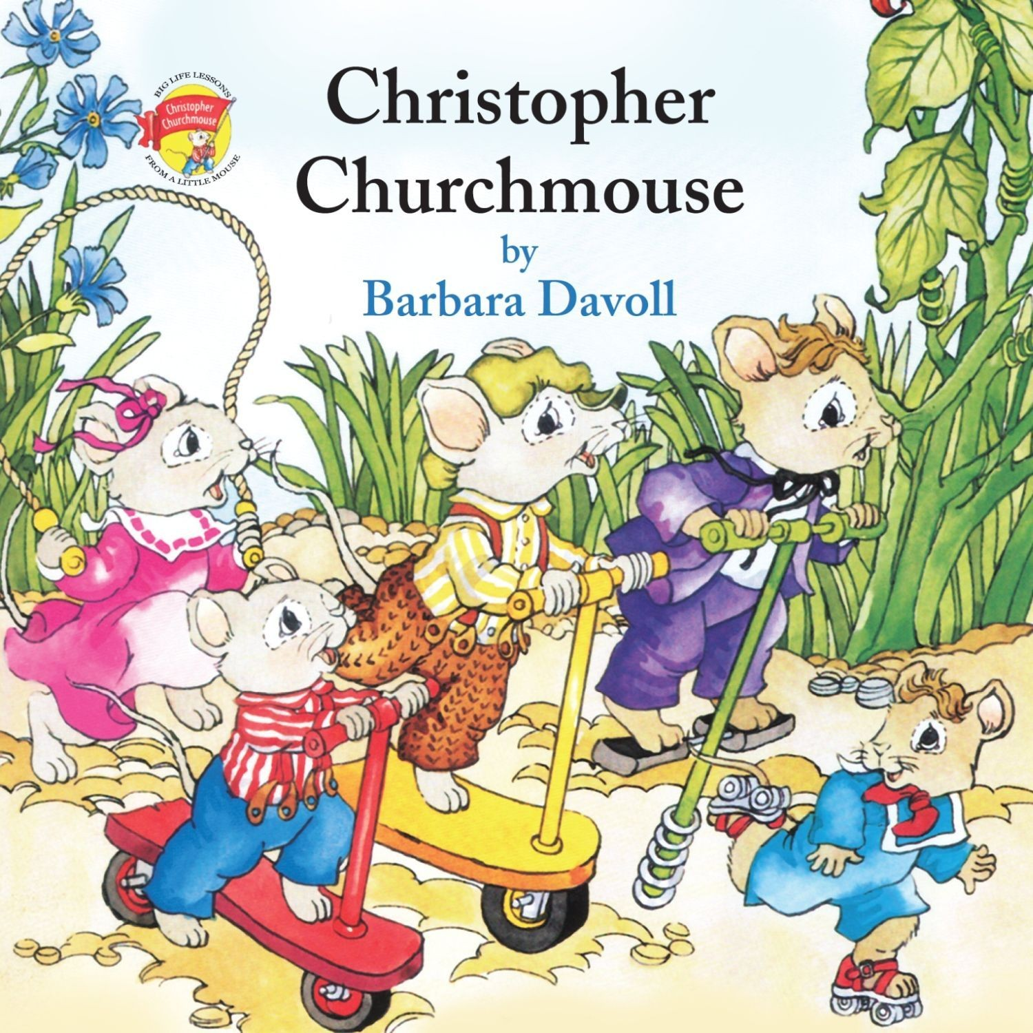 Printable Christopher Churchmouse Audiobook Cover Art