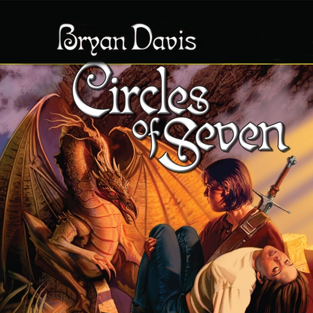 Printable Circles of Seven Audiobook Cover Art
