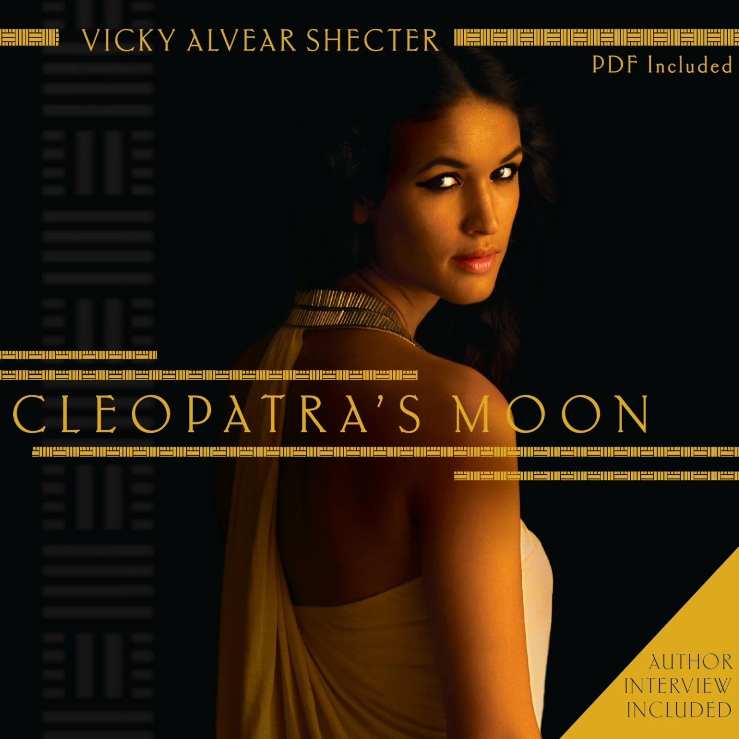 Printable Cleopatra's Moon Audiobook Cover Art