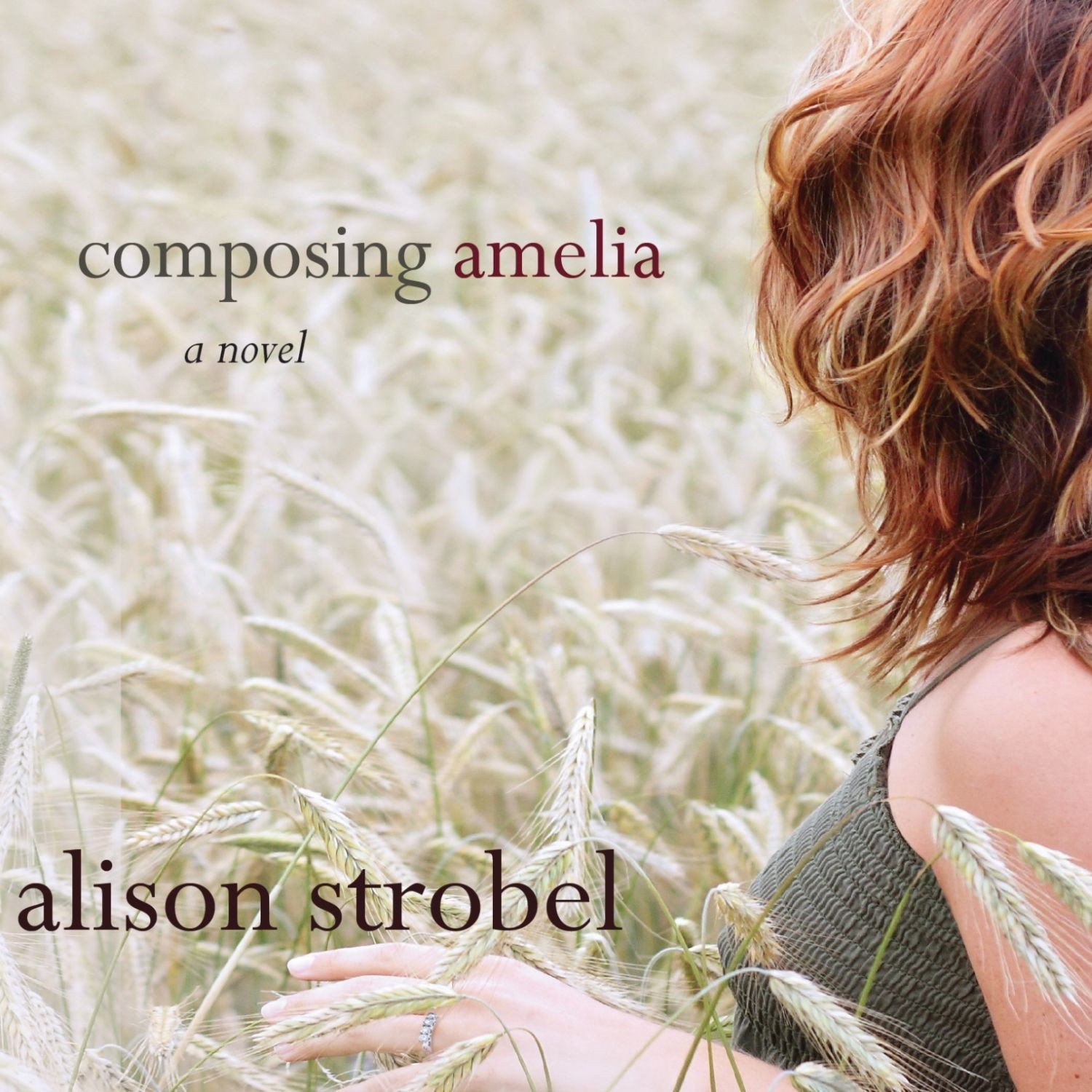 Printable Composing Amelia: A Novel Audiobook Cover Art