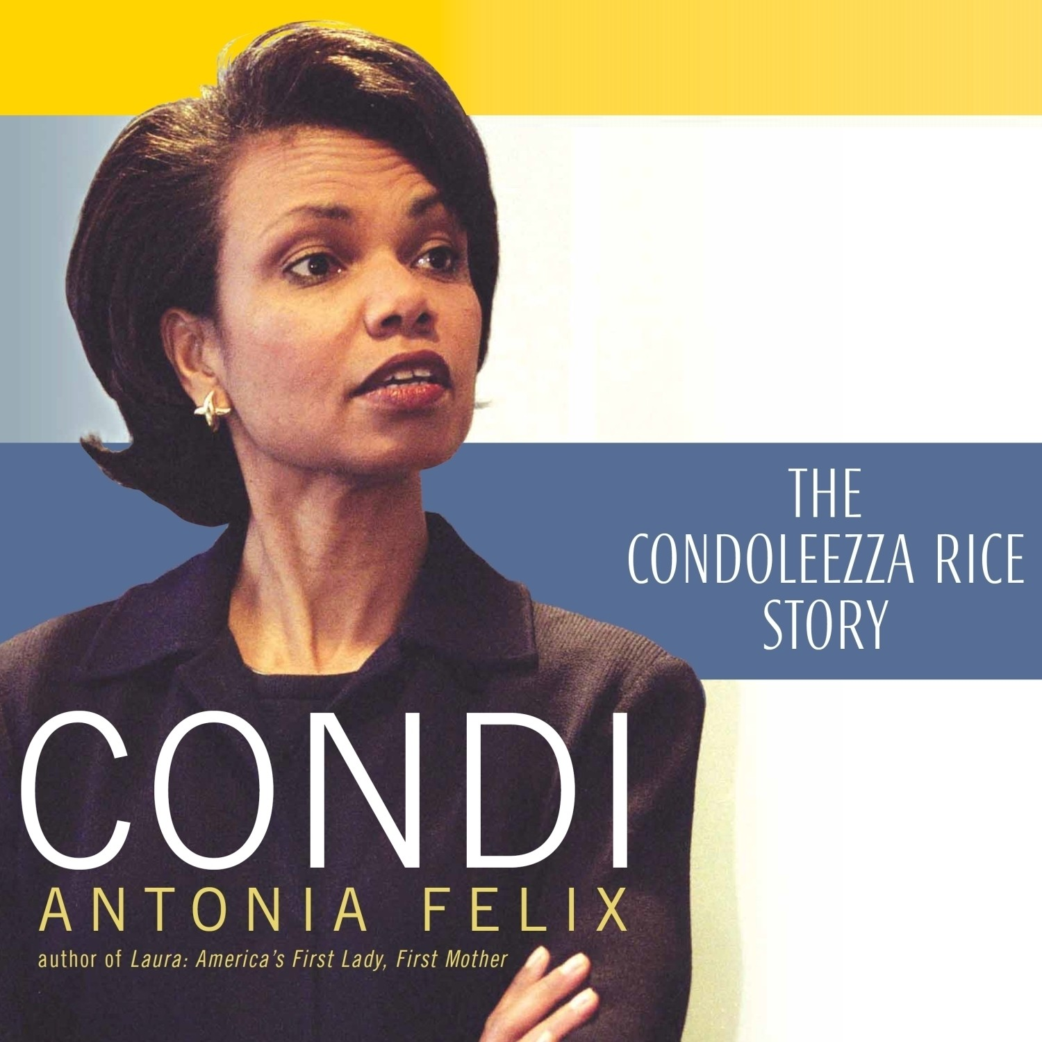 Printable Condi: The Condoleezza Rice Story Audiobook Cover Art