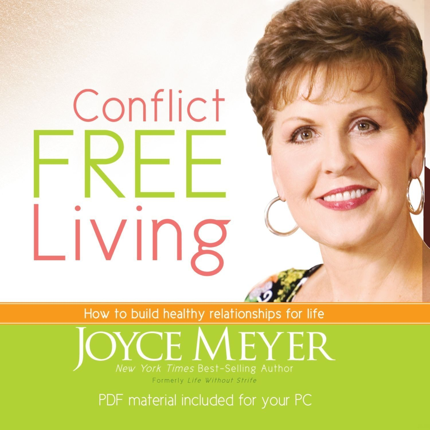 Printable Conflict Free Living: How to Build Healthy Relationships for Life Audiobook Cover Art
