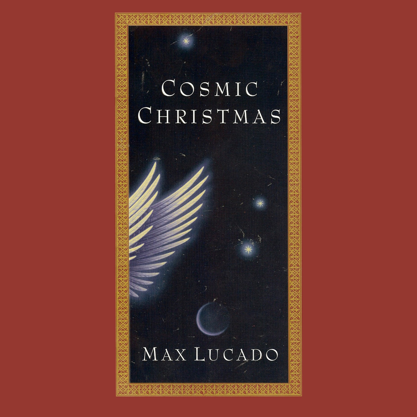 Printable Cosmic Christmas Audiobook Cover Art