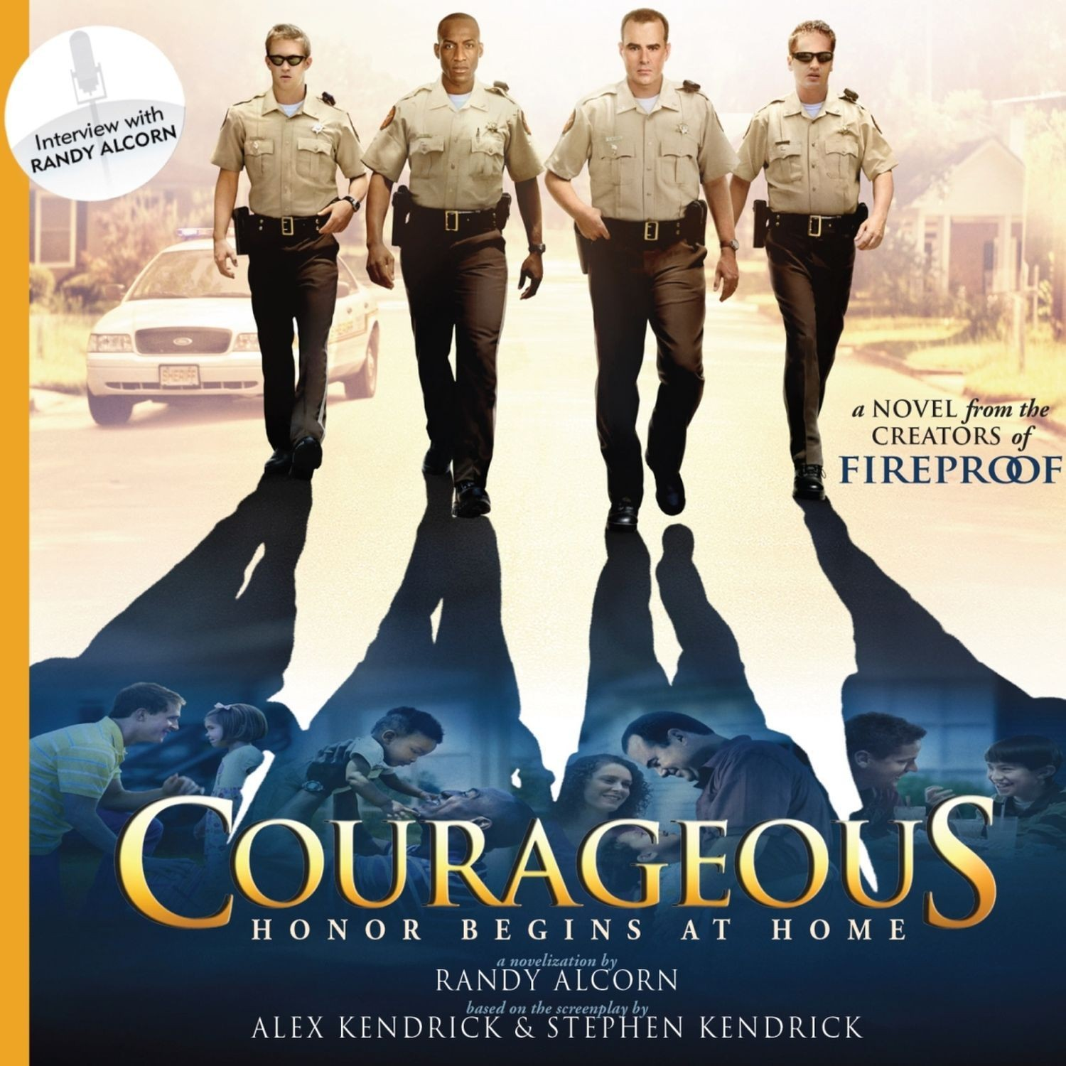 Printable Courageous: A Novel Audiobook Cover Art