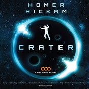 Crater: A Helium-3 Novel Audiobook, by Homer Hickam