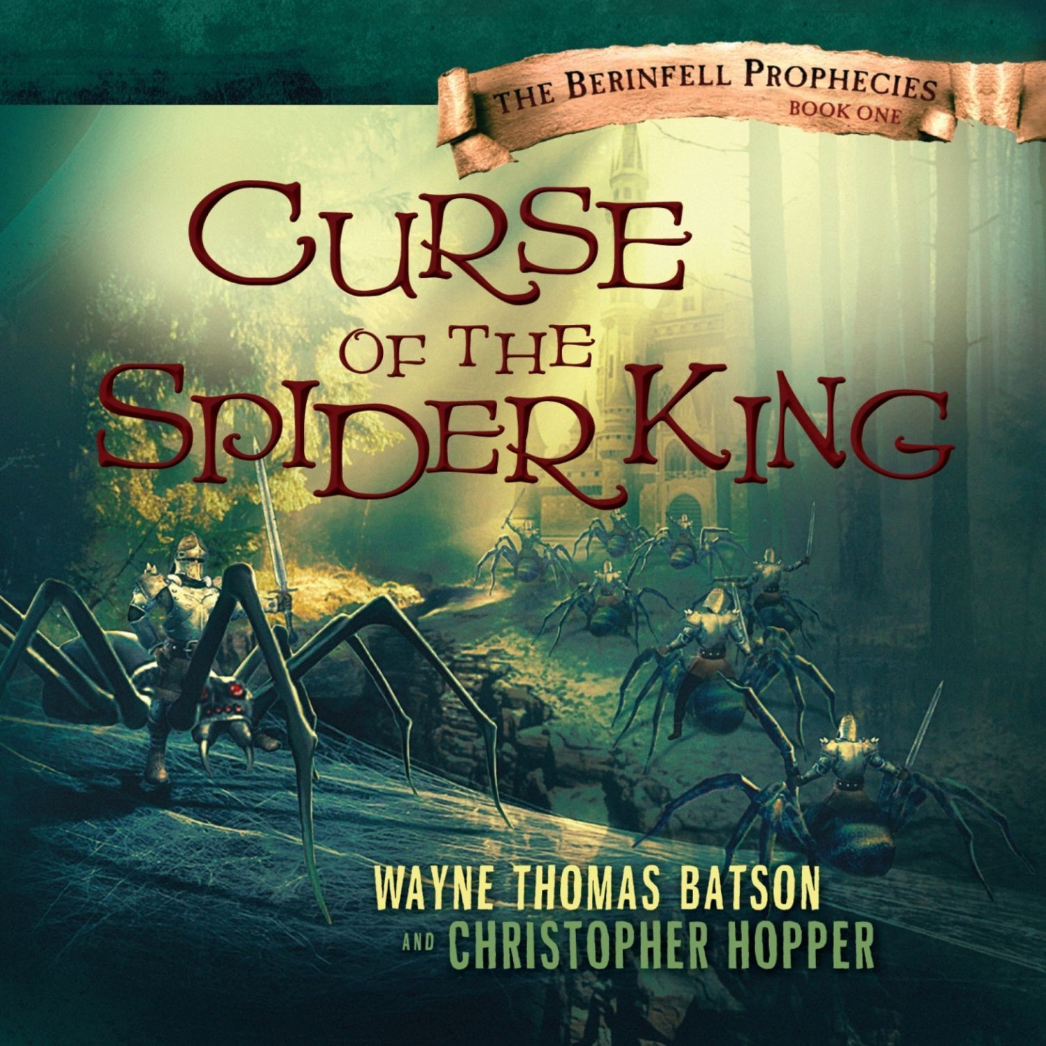 Printable Curse of the Spider King Audiobook Cover Art