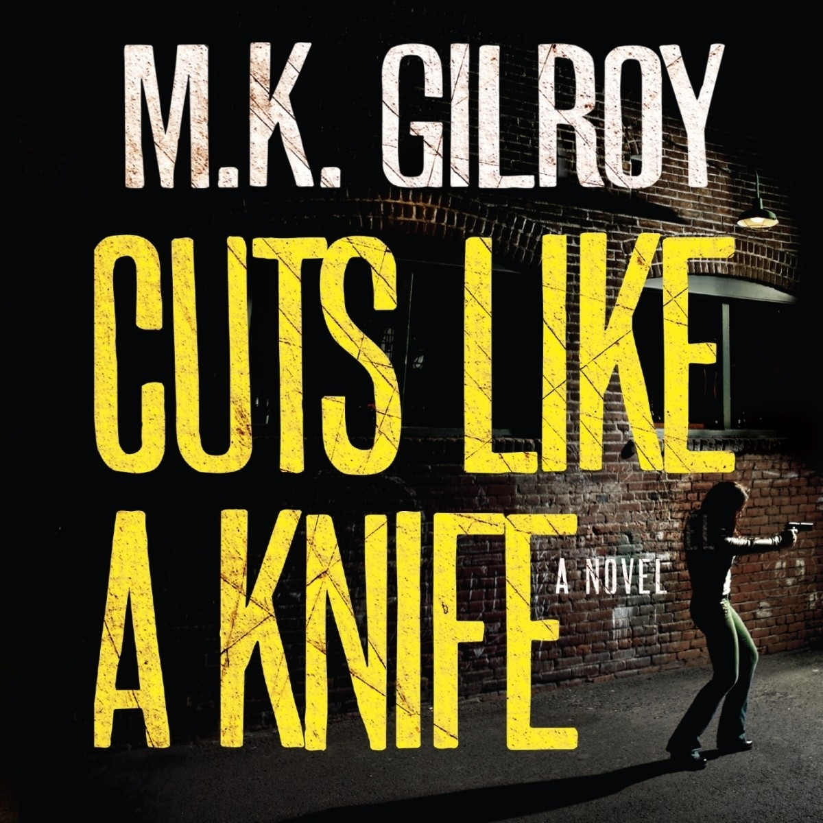 Printable Cuts Like a Knife Audiobook Cover Art