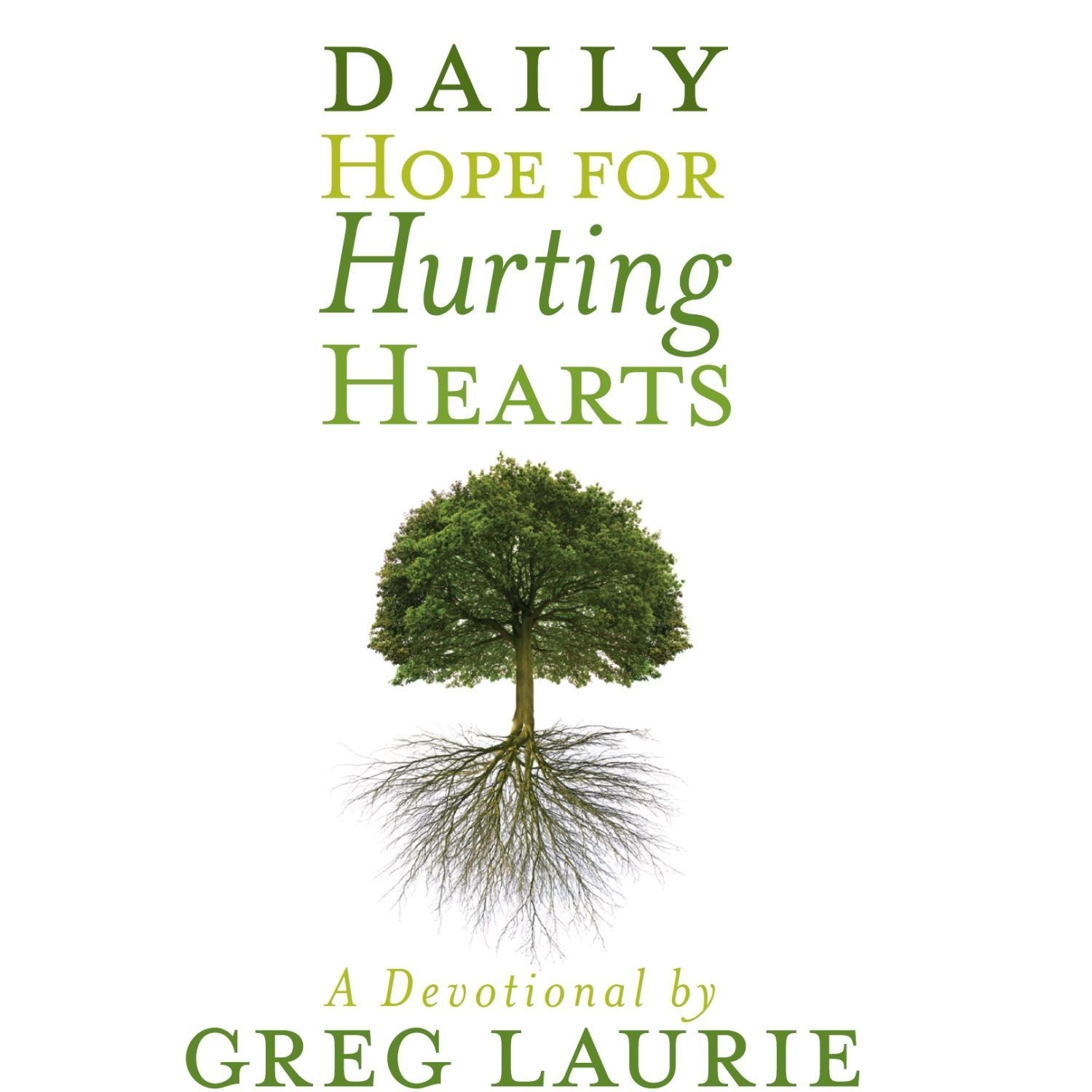 Printable Daily Hope for Hurting Hearts: A Devotional Audiobook Cover Art