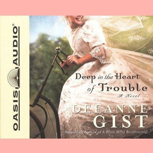Printable Deep in the Heart of Trouble Audiobook Cover Art