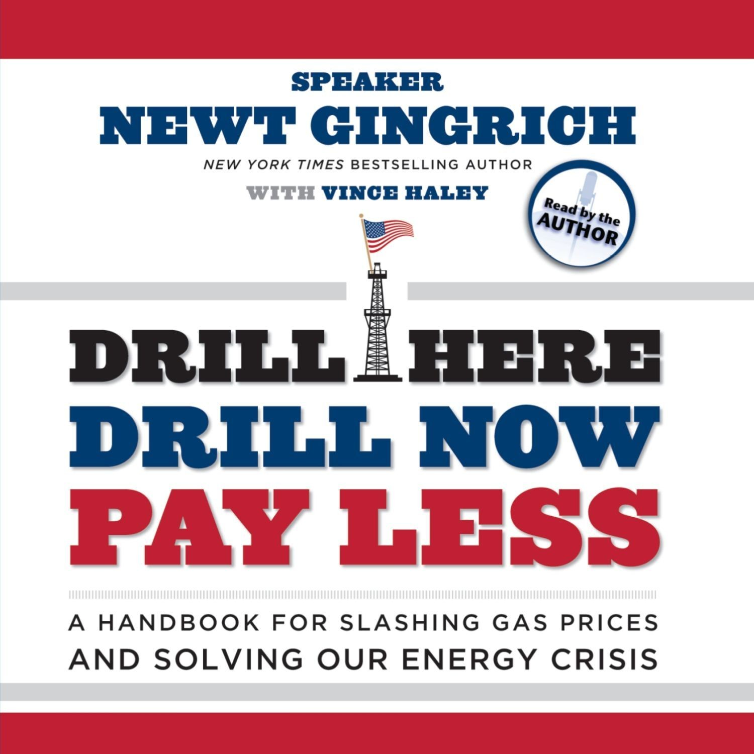 Printable Drill Here, Drill Now, Pay Less: A Handbook for Slashing Gas Prices and Solving Our Energy Crisis Audiobook Cover Art
