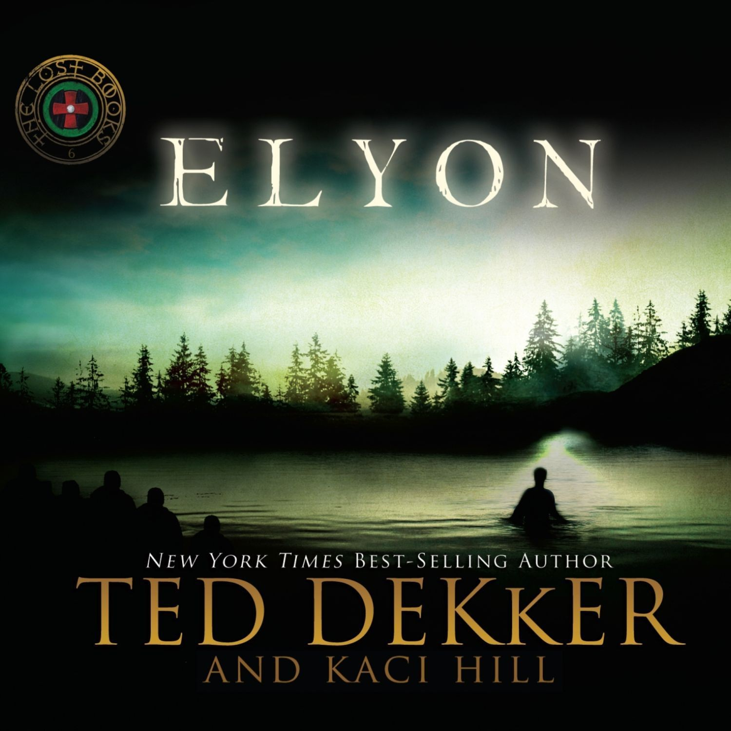 Printable Elyon Audiobook Cover Art
