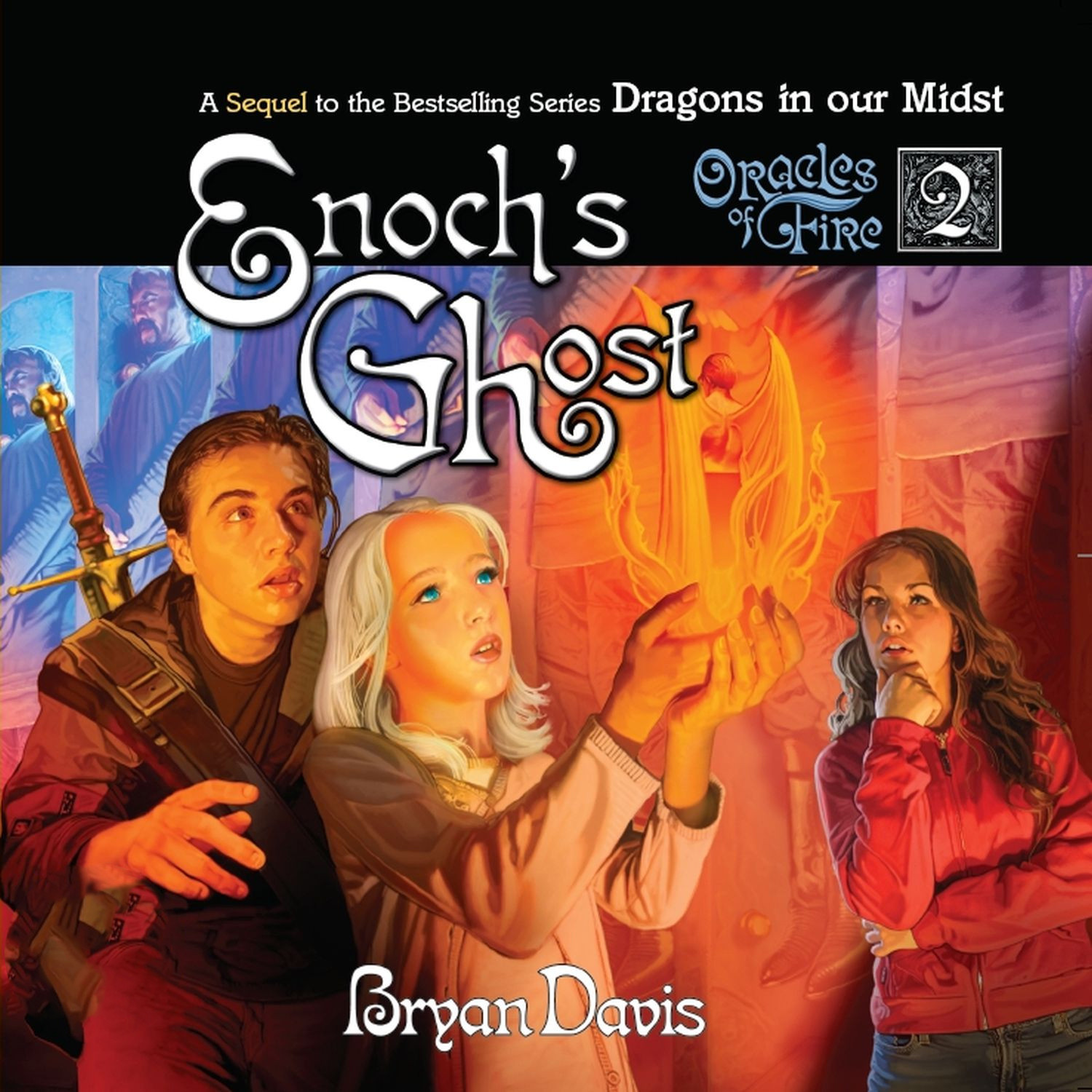 Printable Enoch's Ghost Audiobook Cover Art