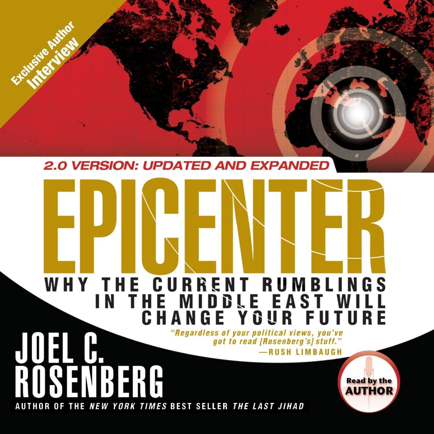 Printable Epicenter: Why the Current Rumblings in the Middle East Will Change Your Future Audiobook Cover Art