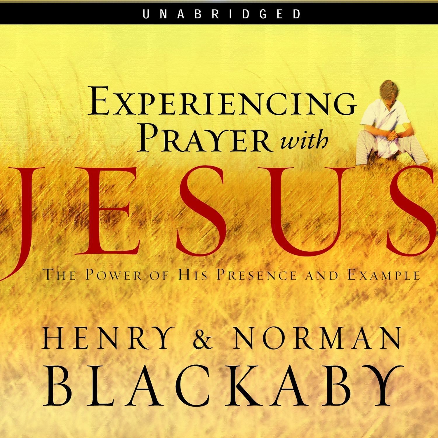 Printable Experiencing Prayer with Jesus Audiobook Cover Art