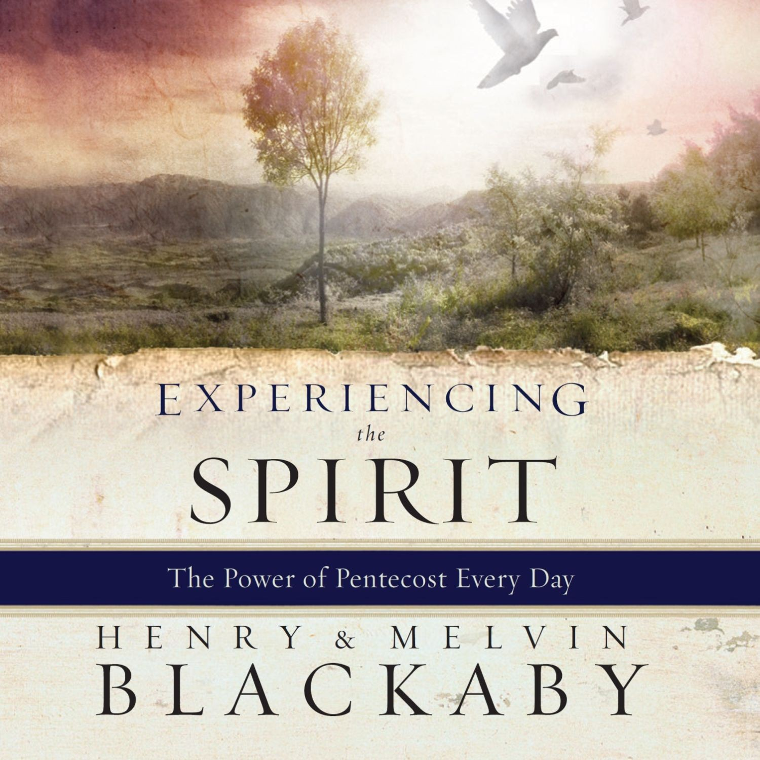Printable Experiencing the Spirit Audiobook Cover Art