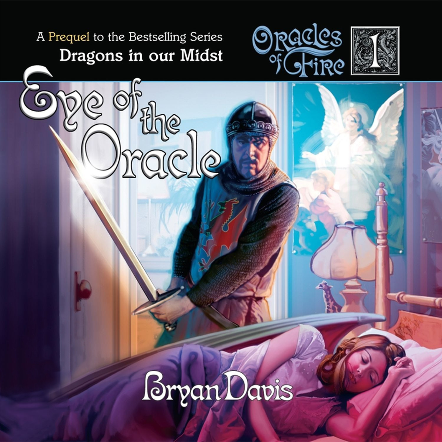 Printable Eye of the Oracle Audiobook Cover Art