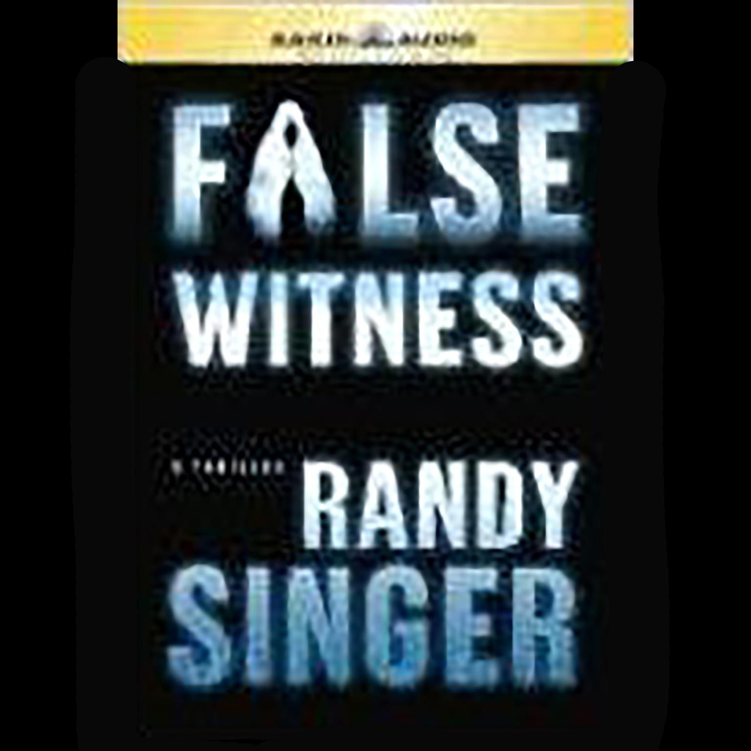 Printable False Witness Audiobook Cover Art
