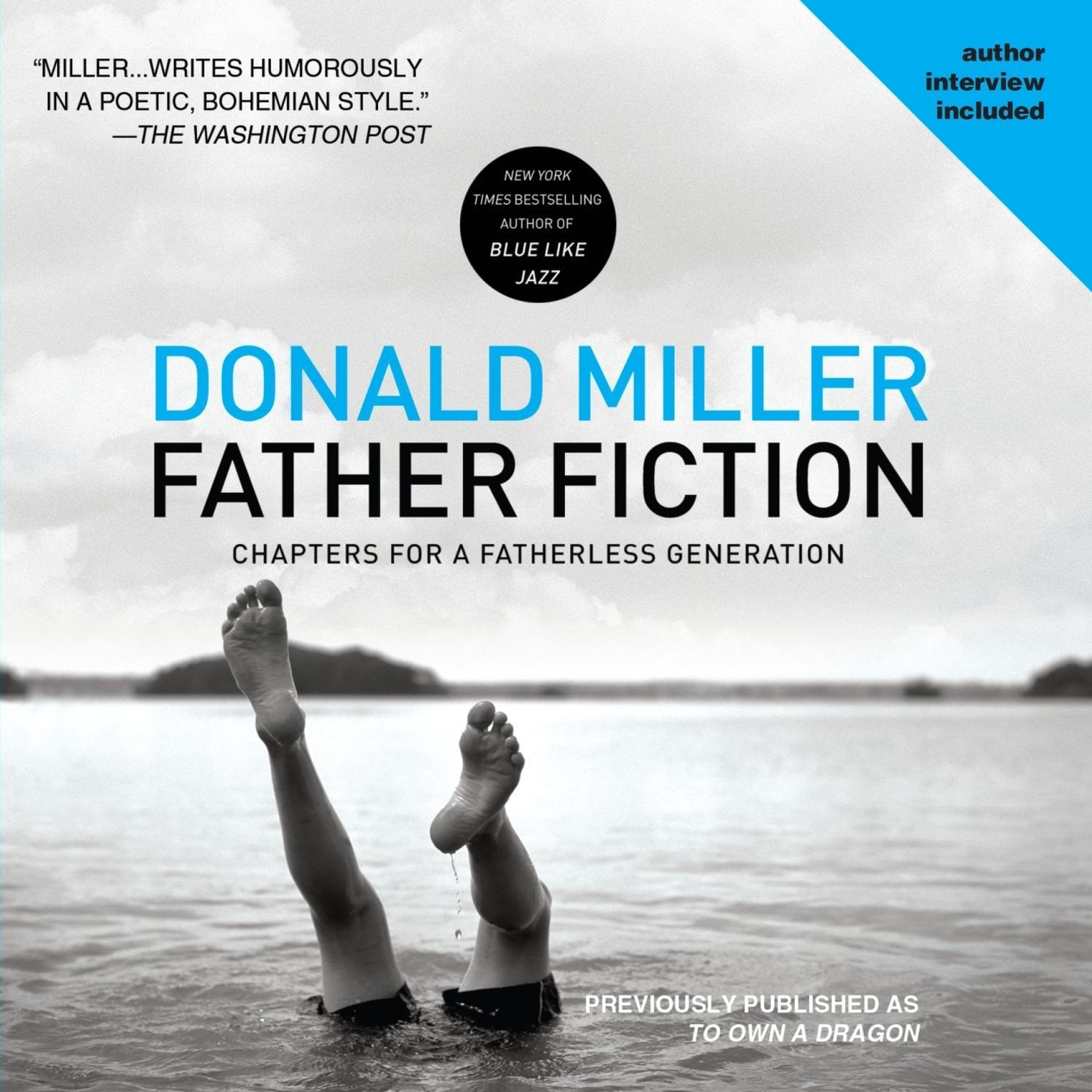 Printable Father Fiction: Chapters for a Fatherless Generation Audiobook Cover Art