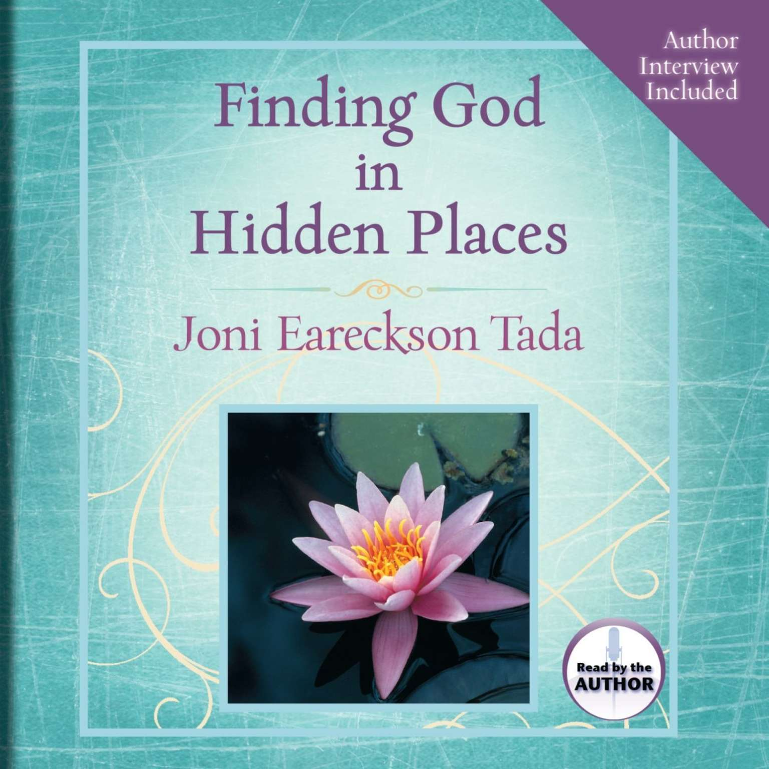 Printable Finding God in Hidden Places Audiobook Cover Art