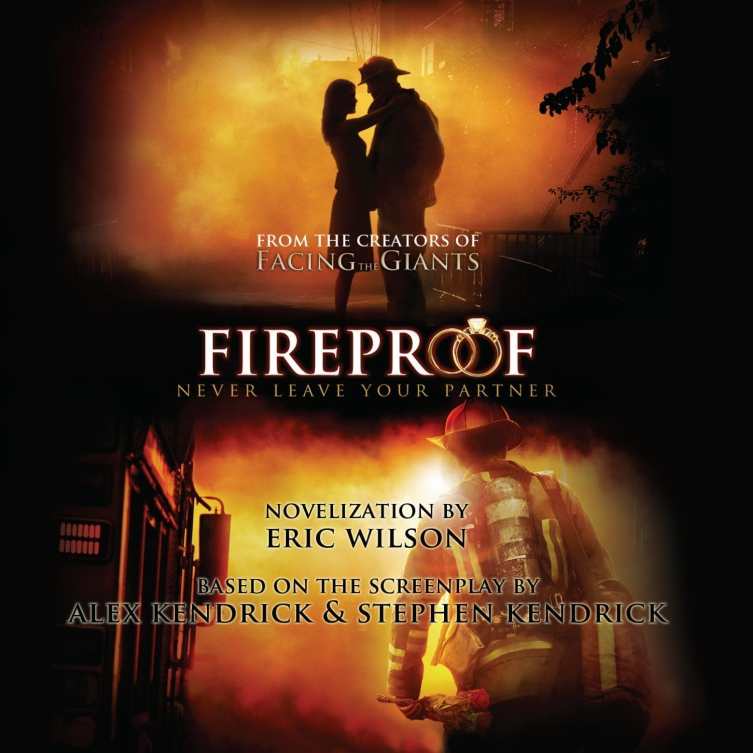 Printable Fireproof: Never Leave Your Partner Behind Audiobook Cover Art