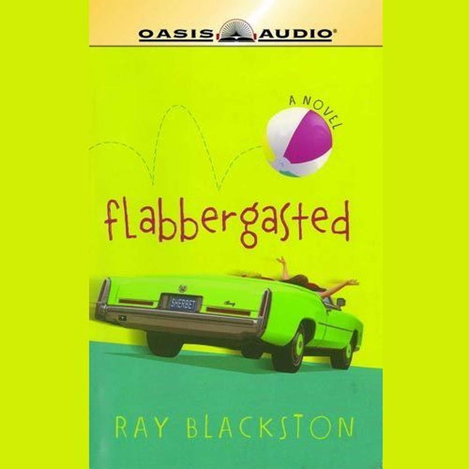 Printable Flabbergasted: A Novel Audiobook Cover Art