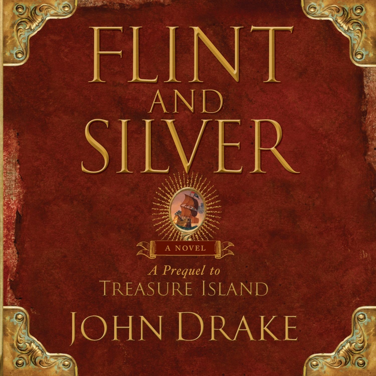 Printable Flint and Silver: A Prequel to Treasure Island Audiobook Cover Art