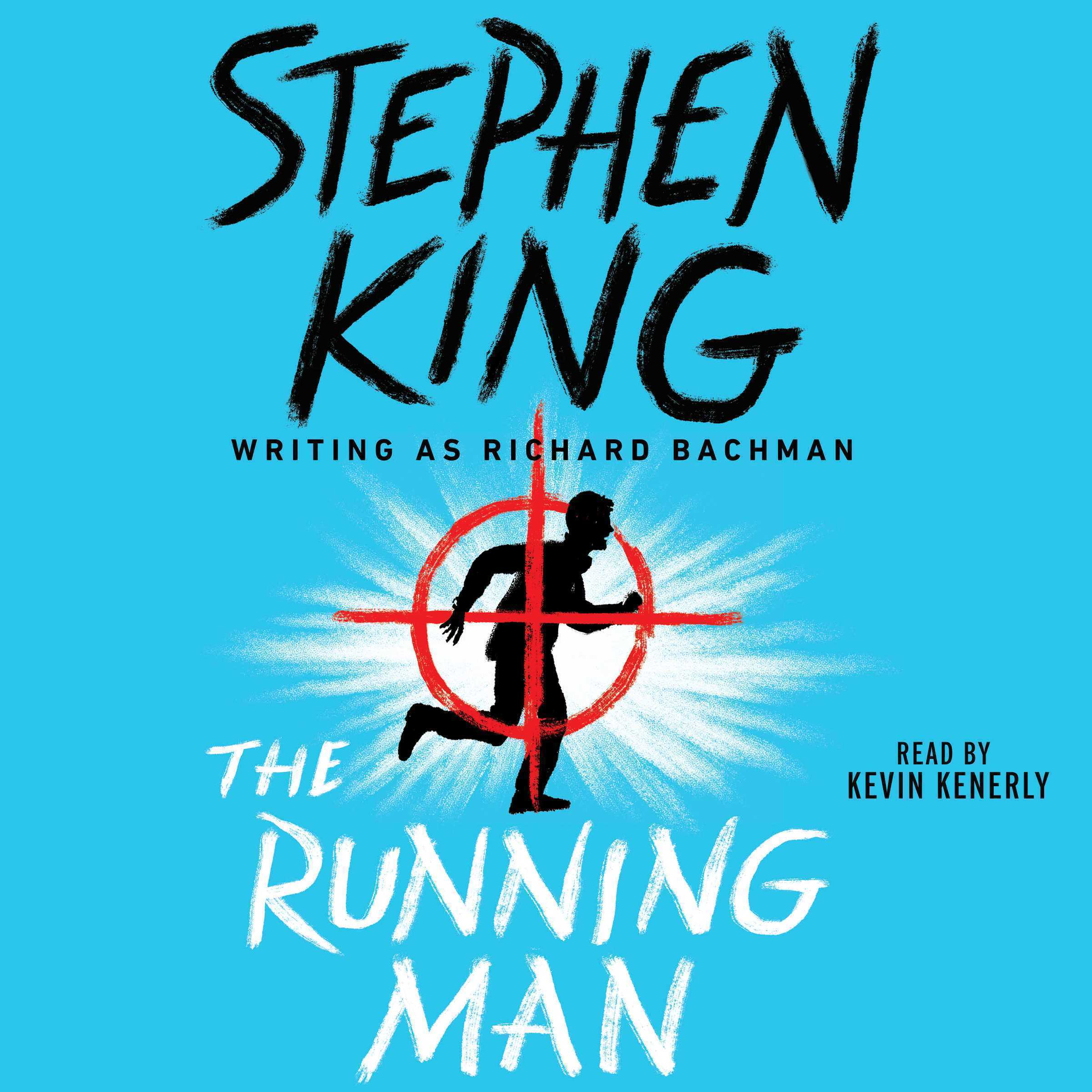 Printable The Running Man: The Audiobook Cover Art