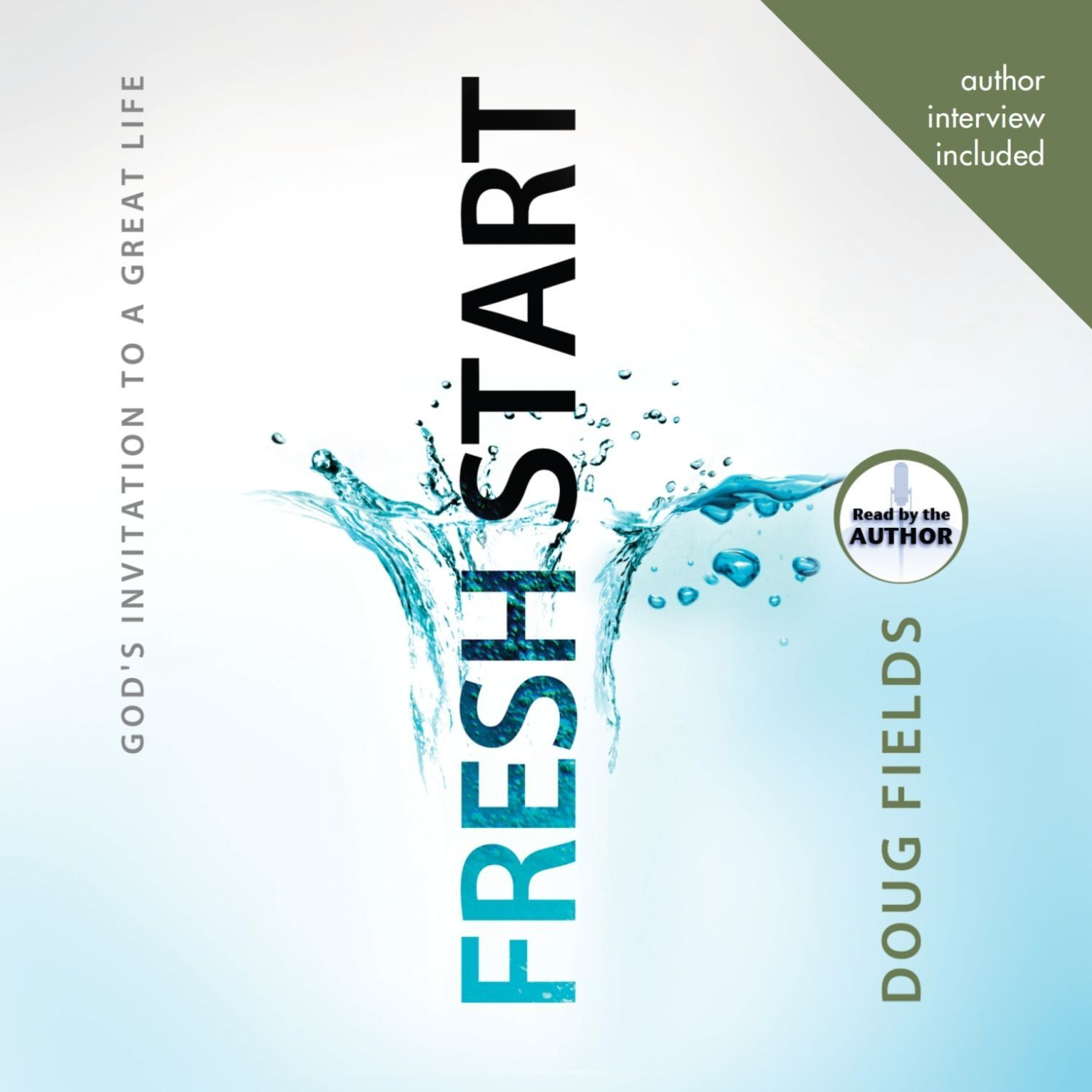 Printable Fresh Start: God's Invitation to a Great Life Audiobook Cover Art